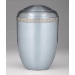 Urna metalowa - biała 6234