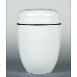 Urna ceramiczna z krzyżykiem